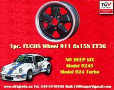 1 cerchio Porsche Fuchs 944 Felgen 6x15N TÜV 1 Stk pc. wheel jante