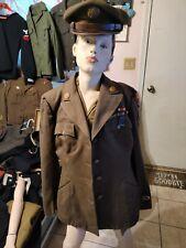 Original Ww2 US Army Jacket Named 🧐🇺🇲