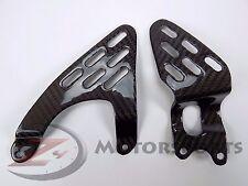 2003-2005 R6 & 2006-2009 R6S Rearset Foot Peg Heel Guard Plates Carbon Fiber