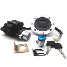 Ignition Switch Fuel Gas Cap Key Lock Set For Suzuki GSXR600 1996-2003/GSXR750