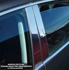 Chrome Stainless Pillar Posts (6 PCS) for 2007 2008 2009 2010 2011 Toyota Camry