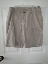 NORTHFACE WOMENS TAN SHORTS SIZE 10
