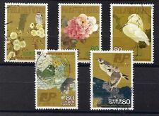 ˳˳ ҉ ˳˳C2035 Japan Commemorative Philatelic week 2008 recent complete set birds