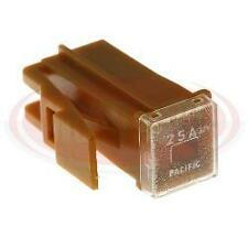 SLOW BLOW FUSE PAL STANDARD LOCKING CLIP TYPE JAPANESE BROWN 25 A NISSAN FUS2525