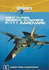 Great Planes - General Dynamics - F111 Aardvark (DVD, 2003) - Region 4