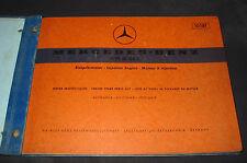Ersatzteilkatalog Mercedes Benz Typ M 114  E /8 Einspritz Motor Strich 8 12/1970