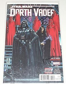 Darth Vader #20! (2015) Signed by Kieron Gillen & Mark Brooks! NM! COA!
