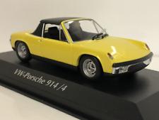 Maxichamps 940065661 1972 Volkswagen Porsche 914/4 Yellow 1:43 Scale