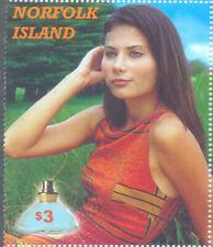 Perfumed Stamp!! Norfolk island mnh single