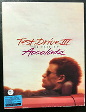 Vintage Test Drive III The Passion Accolade Floppy Disks Computer Game 1990 IBM