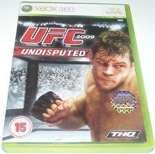UFC indiscusso: 2009-Per Xbox Microsoft 360