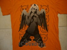 7ru7h (Truth) and Lies Dirty Sexy Scoundrel Topless Angel Orange T Shirt 2XL