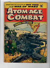 ATOM-AGE COMBAT #4 - Grade 4.0 - Golden Age War Comic.