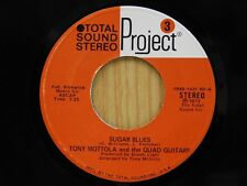 Tony Mottola 45 Sugar Blues bw Chicken-A-La-Swing - Project M-