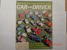 Collectible Automobile magazine, Car & Driver, July 1962