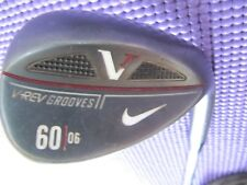 Nice Nike VR v-rev black gunmetal 60 l lob wedge golf pride mcc grip victory red