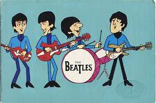 BEATLES 1965 UK Tour Concert Program Programme Moody Blues Procol Harum + Poster