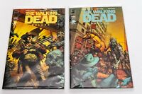 Image comics The Walking Dead Deluxe Bundle #1 and #2