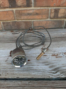 Vintage Used Smiths Oil Water Temp. Gauge GD1301/02 England Triumph MG Healey +