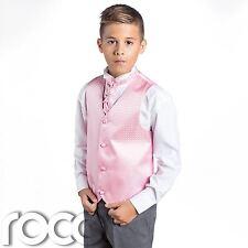 Niños Rosa y gris traje, TRAJE CEREMONIA NIÑO, Boda, niños, diamante
