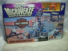 1996 Kenner Microverse Harley-Davidson Service Center Playset Bnib