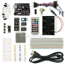 DIY SainSmart UNO R3 ATMEGA328P Basic Starter Kit for Arduino Beginner
