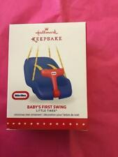 Hallmark Keepsake Ornament 2015 Little Tikes Baby's First Swing Christmas child