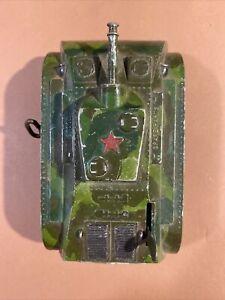 Marx Wind Up Toy Tank - Mechanism Works Ca 1950 Custom Paint Job