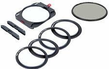 Kase K100-K8 with CPL Slim system Filter Holder Magnetic Polarizer 2mm slot Free