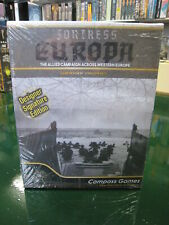 Compass Games Fortress Europa Designer Signature Edition New Sealed 2019
