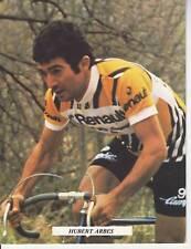 CYCLISME carte cycliste HUBERT ARBES équipe RENAULT GITANE 1978
