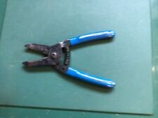 Klein Tools 1011 Wire Stripper Cutter Solid And Stranded Wire Blue 6 18 Usa