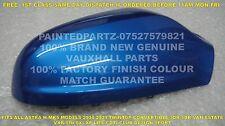VXR Arden Azul 100% Original Opel Astra H MK5 Cubierta De Espejo De Ala Puerta controladores