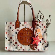 Tory Burch Tote Nylon Handbag Shoulder Bag printed2