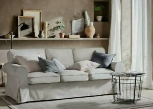 Slipcover - 3 Cushion Sofa Slipcover - Fits Pottery Barn PB Basic Sofa NEW