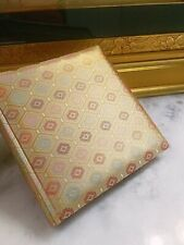 Beautiful Gold Golden GUMP'S Silk Brocade Photo Album Book Made in Japan