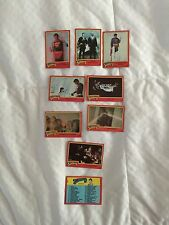 9 Vintage Topps 1980 Superman 2 Trading Cards