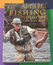 vtg FLYFISHING book Fishing  Dry Flies for Trout on Rivers & Streams by Art Lee