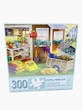 "Bits and Pieces 300 Piece Puzzle ""Summer Planting Shed"" 18""x 24"" New Sealed!"