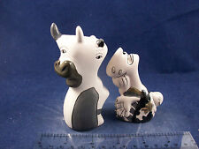 New Boxed Picasso Guernica Bull Girl Abstract Cubism Salt & Pepper Shakers SP2