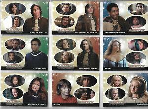 Battlestar Galactica - Colonial Warrior 72 Base Card Rittenhouse Archives - 2006