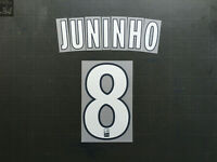 JUNINHO 8 OL AWAY NAMESET LFP LIGUE 1 LYON TRANSFERT MONBLASON (WHITE/NAVY)