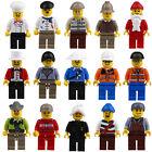 20pcs/Lot Minifigs Mini Figures Men People Professional Role Minifigures Toy Set