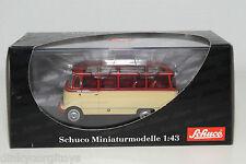 . SCHUCO 2811 MERCEDES-BENZ O319 O 319 BUS RED CREAM MINT BOXED