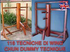 Wing Tsun - Dummy 116 (1 DVD) Uomo di legno -  Tutte le 116 tecniche Wing Chung