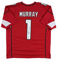 Cardinals Kyler Murray Authentic Signed Red Jersey Autographed BAS Witnessed