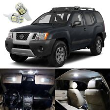 12 x Xenon White LED Interior Light Package Kit For Nissan Xterra 2005 - 2014