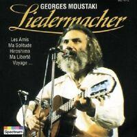 GEORGES MOUSTAKI - LIEDERMACHER  CD  14 TRACKS FRENCH POP CHANSON  NEU