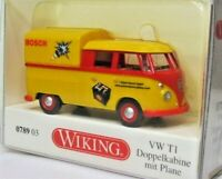 Wiking 1:87 VW T1 Doppelkabine Pritsche mit Plane OVP 0789 03 Robert Bosch GmbH