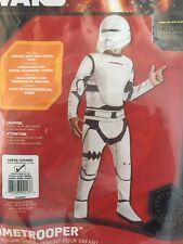 star wars flametrooper Fancy Dress Outfit Costume 8-10 Years New